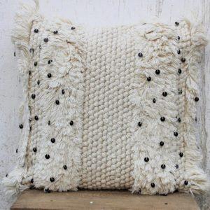 Beautiful Handmade 20 X 20 Moroccan Cushion 100% Wool Sofa Couch Cushion Cover