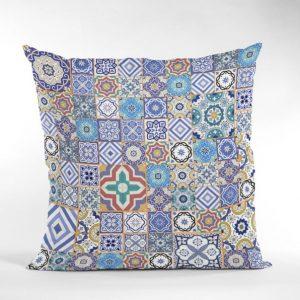 Mosaic Decorative Throw Pillows