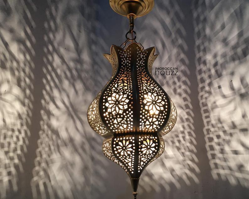 Christmas Light Moroccan Pendant Light, Moroccan lamp, Hanging Lamp, Ceiling Lamp, Lampshades Lighting Home Decor Lighting, Moroccan Pendant