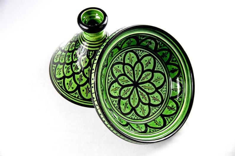 Moroccan Tagine Ceramic Serving Handmade Tagine Artisan | Pottery Tagine | Decorative Tagine| Tagine Pot Thanksgiving s Mother's day gift