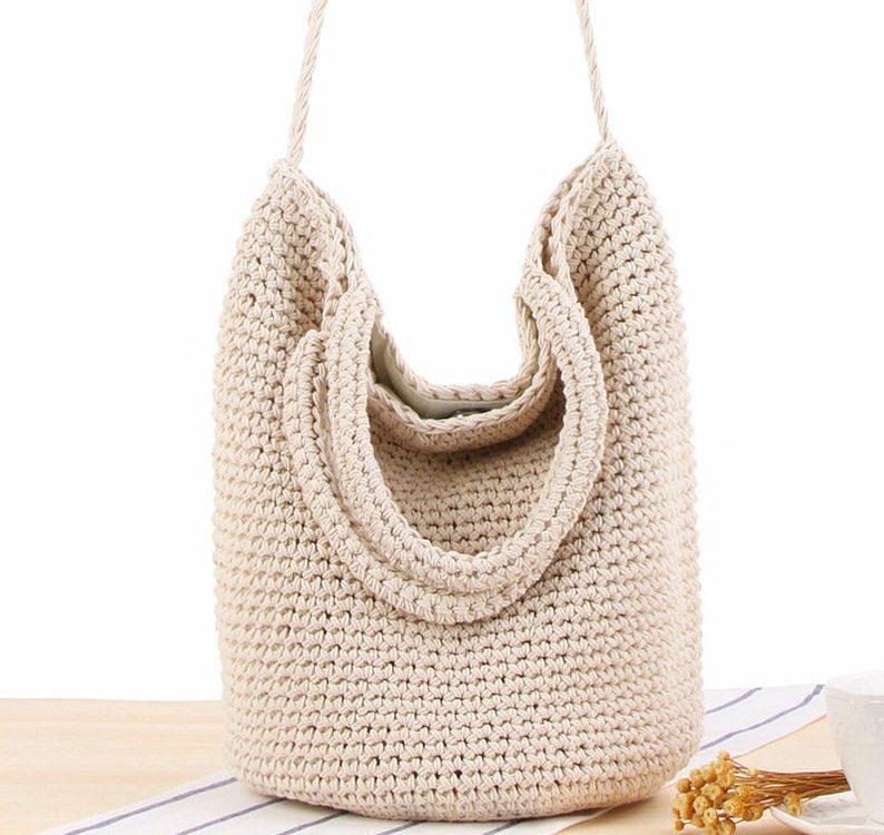 Straw Beach Tote bag for women, Vintage Jute Bag, French Basket , Big natural wicker bag, Crochet Shopper Market bag, Mothers Day Gifts