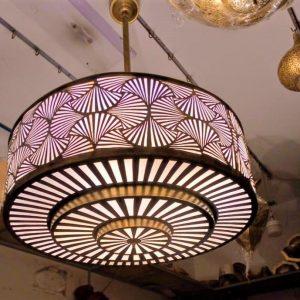 Shell Chandelier, Moroccan Lighting, Designer lamp, Moroccan Chandelier, Pendant lamp, Art deco light, Moroccan pendant lamp, Moroccan gift,