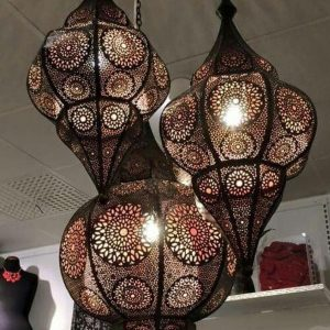 Moroccan Lamp - Moroccan Lantern - Moroccan Decor - Pendant Light - Moroccan Ceiling Light - Moroccan Pendant - Lighting lamp
