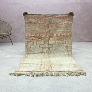 Boujaad Rugs - Vintage Rugs, Berber Boujad Rug, Authentic Boujad Rug, Moroccan Boujad Rugs, Berber Boujad Rug, 3.2 x 5.1 FT / 98 x 157 CM