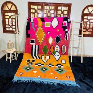 Moroccan Boujad Rug, Azilal rug, Authentic Moroccan, Handmade Old Moroccan Rug, Fabulous Moroccan rug, Berber carpet, Bohemian rug
