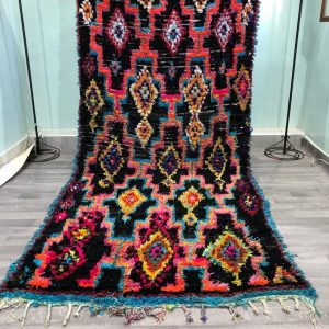 Original Old Boucherouite Rug