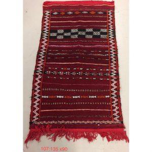 Vintage Moroccan Kilim Rug 135cm x 90cm
