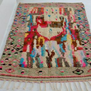 Boujad rug 6.69 ft x 4.13 - Moroccan rugs - Moroccan berber carpet - handmade wool rug - vintage rug