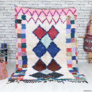 Boucherouite Rug,Moroccan Rug,Azilal Rug,Vintage Boucherouite rug,Runner berber boucherouite rug, boho rug,kilim boucherouite rug,old rug