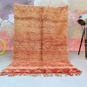 Fabulous Moroccan rug 5x8 - Authentic Moroccan Boujad Rug - Berber tribal rug - Handmade Old Moroccan Rug - Berber carpet - Bohemian rug