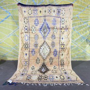 Stunning Vintage rug 4.8ft x 8.3ft Handmade Wool Rug, Sheep Wool Rug, Tribal Wool Carpet, Vintage Wool Rug, Colorful Wool Rug, Berber Carpet