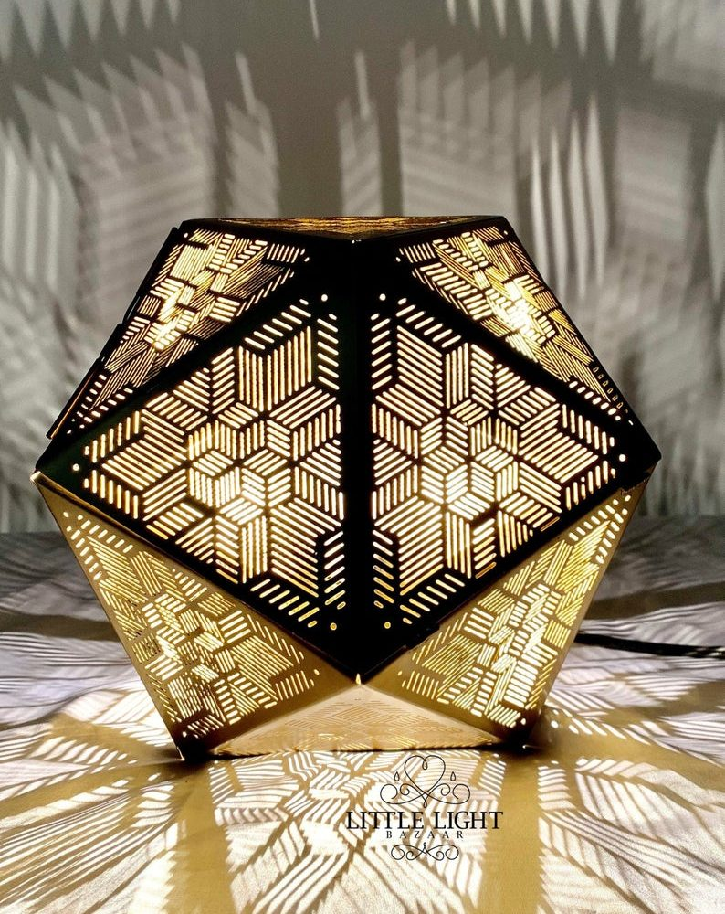 Small Moroccan Table Lamp