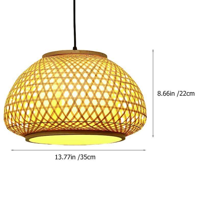 Chandelier Bamboo Art Hanging Lamp