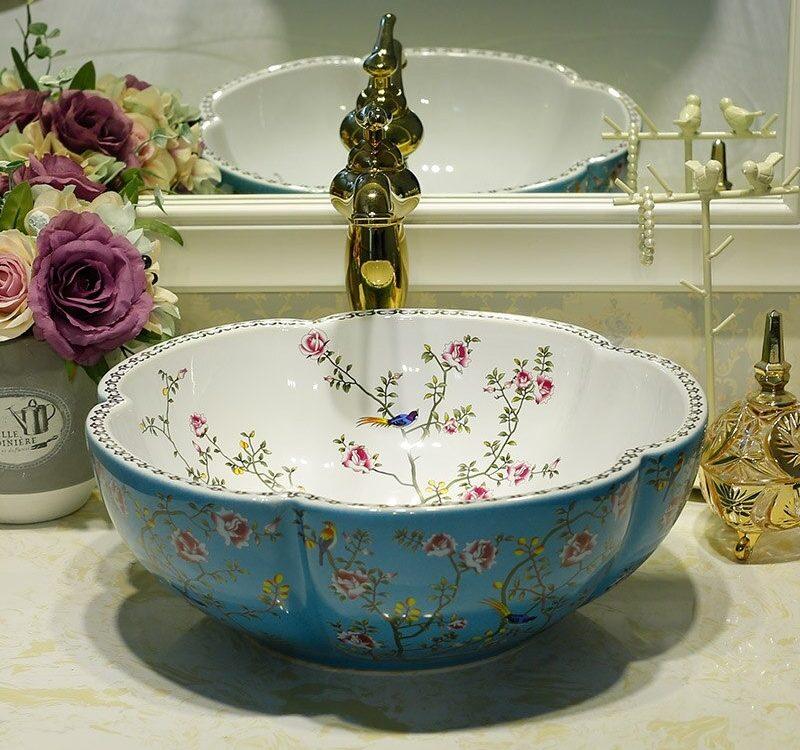 Europe Style Lavobo Ceramic