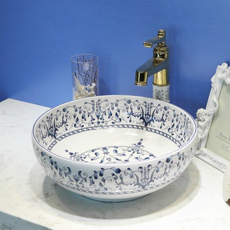 porcelain wash basin bathroom sinks