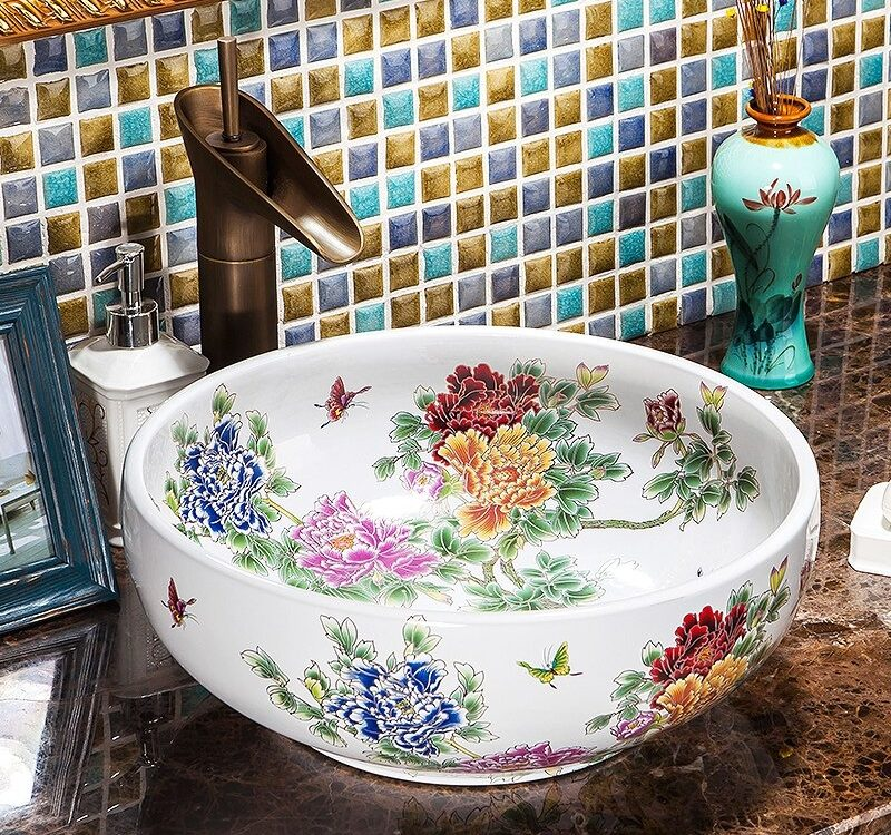 ceramic bathroom sinks at lowes