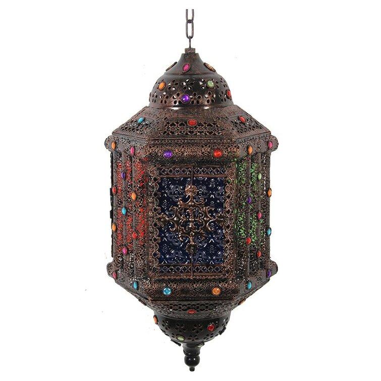 Moroccan Modern Metal Lantern