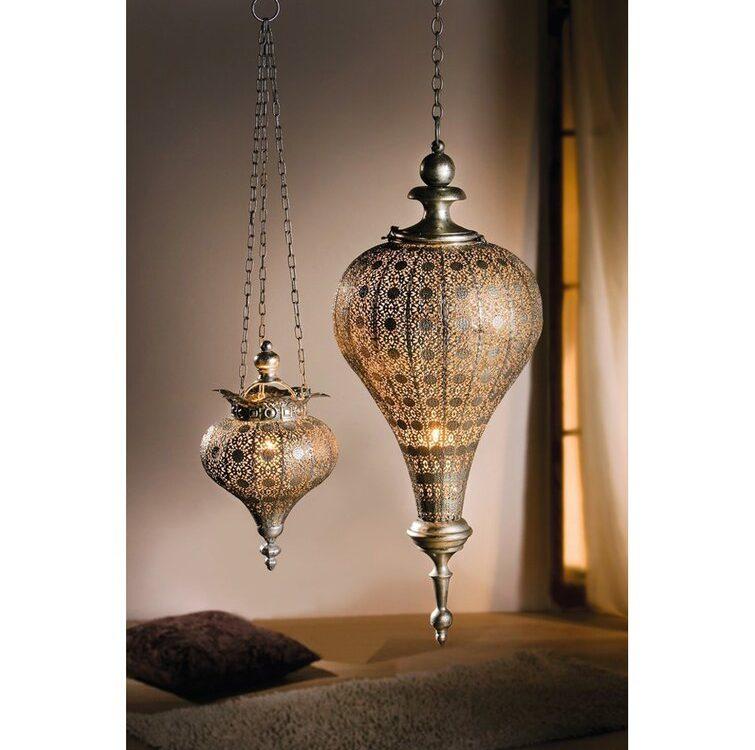 Oriental Tall Metal Lantern