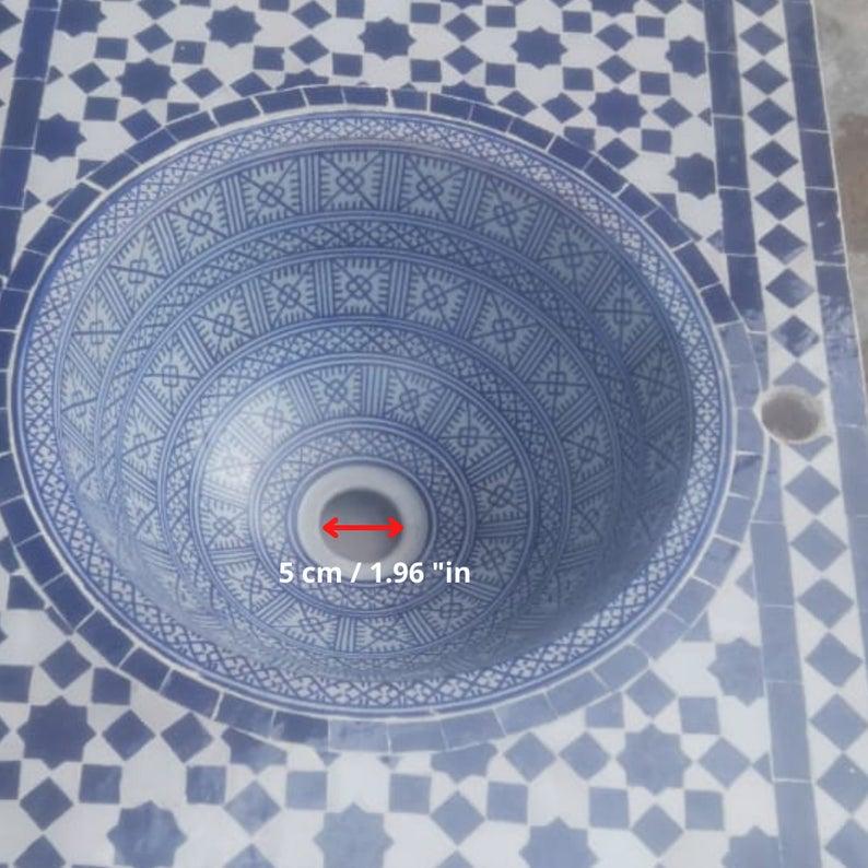 Moroccan Sinks Bathrooms